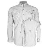 Columbia Bahama II White Long Sleeve Shirt-Icon