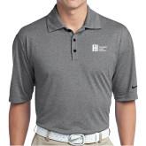 Nike Golf Dri Fit Charcoal Heather Polo-Huntington Ingalls Industries