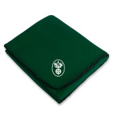 Dark Green Arctic Fleece Blanket-Icon
