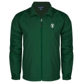 Full Zip Dark Green Wind Jacket-Icon