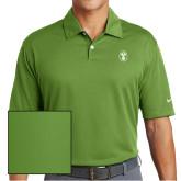 Nike Dri Fit Vibrant Green Pebble Texture Sport Shirt-Icon
