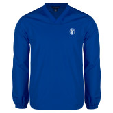 V Neck Royal Raglan Windshirt-Icon