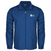 Full Zip Royal Wind Jacket-Huntington Ingalls Industries