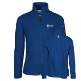 Columbia Ladies Full Zip Royal Fleece Jacket-Newport News Shipbuilding