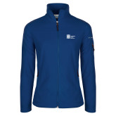 Columbia Ladies Full Zip Royal Fleece Jacket-Huntington Ingalls Industries