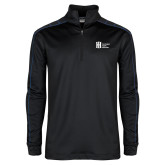 Nike Golf Dri Fit 1/2 Zip Black/Royal Pullover-Huntington Ingalls Industries