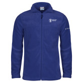 Columbia Full Zip Royal Fleece Jacket-Newport News Shipbuilding