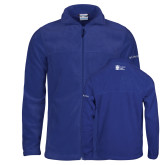 Columbia Full Zip Royal Fleece Jacket-Huntington Ingalls Industries