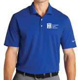 Nike Golf Dri Fit Royal Micro Pique Polo-Huntington Ingalls Industries