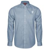 Red House Light Blue Plaid Long Sleeve Shirt-Icon