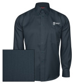Red House Deep Blue Herringbone Long Sleeve Shirt-Newport News Shipbuilding