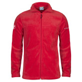 Columbia Full Zip Red Fleece Jacket-Icon