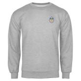 Grey Fleece Crew-Icon