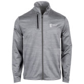 Callaway Stretch Performance Heather Grey Jacket-Newport News Shipbuilding