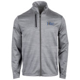 Callaway Stretch Performance Heather Grey Jacket-Huntington Ingalls Industries