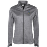 Ladies Callaway Stretch Performance Heather Grey Jacket-Icon