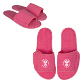 Hot Pink Waffle Slippers-Icon