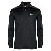 Nike Golf Dri Fit 1/2 Zip Black/Grey Pullover-Huntington Ingalls Industries