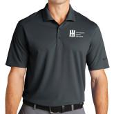 Nike Golf Dri Fit Charcoal Micro Pique Polo-Huntington Ingalls Industries