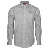Red House Grey Plaid Long Sleeve Shirt-Newport News Shipbuilding