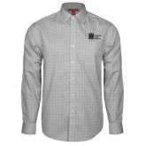 Red House Grey Plaid Long Sleeve Shirt-Huntington Ingalls Industries