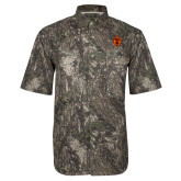 Camo Short Sleeve Performance Fishing Shirt-Icon