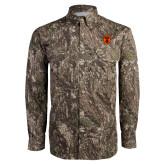 Camo Long Sleeve Performance Fishing Shirt-Icon