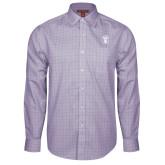Red House Purple Plaid Long Sleeve Shirt-Icon