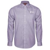 Red House Purple Plaid Long Sleeve Shirt-Newport News Shipbuilding