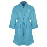 Aqua Waffle Kimono Robe-Icon