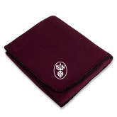Maroon Arctic Fleece Blanket-Icon