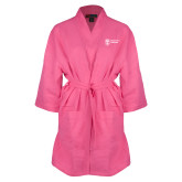 Hot Pink Waffle Kimono Robe-Newport News Shipbuilding