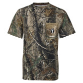 Realtree Camo T Shirt w/Pocket-Icon