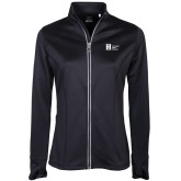 Ladies Callaway Stretch Performance Black Jacket-Huntington Ingalls Industries
