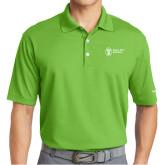 Nike Golf Dri Fit Vibrant Green Micro Pique Polo-Newport News Shipbuilding