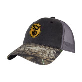 Mossy Oak Grey Mesh Back Structured Hat-Icon