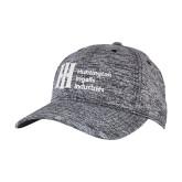 PosiCharge Black/White Electric Heather Snapback Hat-Huntington Ingalls Industries