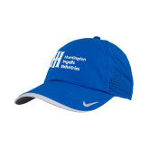 Nike Dri Fit Royal Perforated Hat-Huntington Ingalls Industries