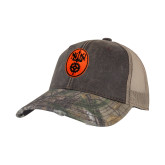 Realtree Edge Brown Mesh Back Structured Hat-Icon
