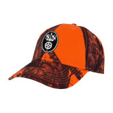 Mossy Oak Orange Blaze Structured Hat-Icon