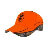 Realtree Xtra Orange Blaze Structured Hat-Icon