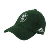 Adidas Dark Green Slouch Unstructured Low Profile Hat-Icon