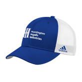 Adidas Royal Structured Adjustable Hat-Huntington Ingalls Industries