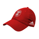 Adidas Red Slouch Unstructured Low Profile Hat-Icon