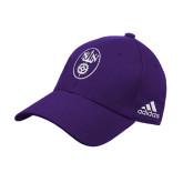Adidas Purple Structured Adjustable Hat-Icon