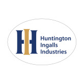 Small Magnet-Huntington Ingalls Industries, 6 inches wide