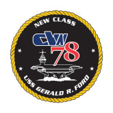 Small Magnet-CVN 78, 6 inches tall