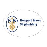 Medium Magnet-Newport News Shipbuilding, 8 inches wide