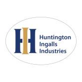 Medium Magnet-Huntington Ingalls Industries, 8 inches wide