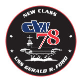 Medium Magnet-CVN 78, 8 inches tall
